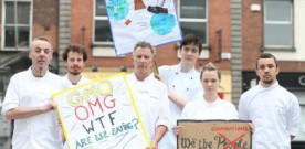 Top chef makes stand against GM food