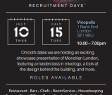 New London hotel recruitment day – Tuesday 15 July