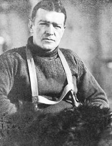 The late Ernest Shackleton
