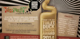 Camden centre's Irish comedy battle tonight