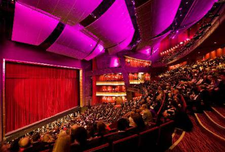 The lavish Bord Gais Theatre