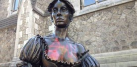 Molly Malone statue vandalised