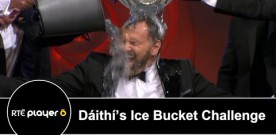 Dáithi Ó Sé filmed doing Ice Bucket Challenge