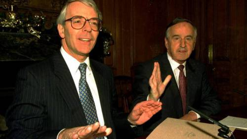 Reynolds secured the Downing Street Declaration with John Major in 1993