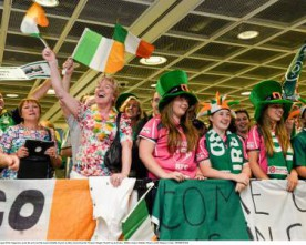 Photo gallery: Ireland women's rugby team's homecoming