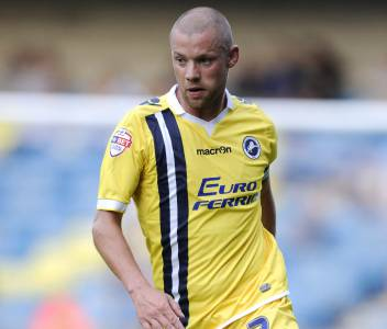 Millwall captain Alan Dunne. Photo: Brian Tonks of Millwall FC