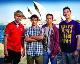 The Inbetweeners 2: School days over