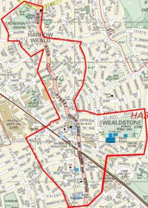 Wealdstone Dispersal Zone new
