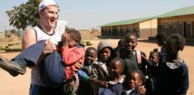 GAA star visits Edmund Rice project in Zambia