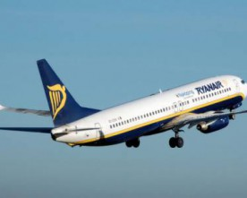 New winter routes for Ryan Air