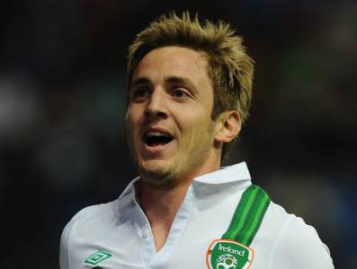 Crystal Palace's new no. 9 Kevin Doyle