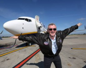 Ryanair takes delivery of its first of 180 new Boeing aircrafts