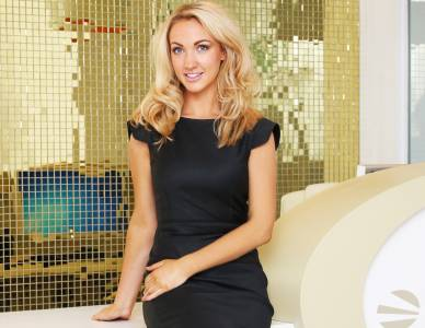 Since winning last year's Apprentice, Leah Totton from Northern Ireland has established a successful cosmetic clinic in London
