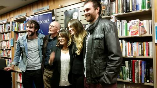 Mary and family at a recent  event to celebrate her book