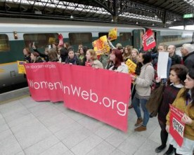 Protesters take 'abortion train' for termination pills