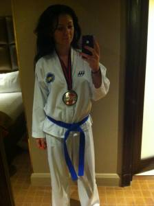 Kumite Medal World Champs 2014