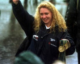 WATCH: Michelle Smith's Atlanta 96 medal haul