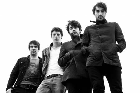 Danny with his band, The Coronas