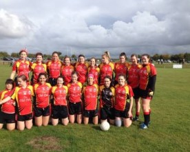 Belgium ladies team make GAA history