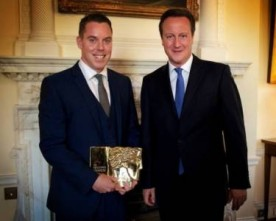 London Irish maths tutor honoured by David Cameron