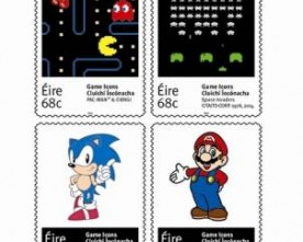Retro games commemorated in new Irish stamps