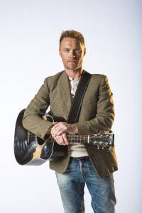 1. Ronan Keating (Once The Musical) photo by Hugo Glendinning