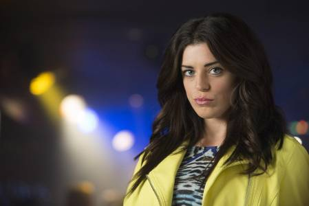 Aoibhinn in character as Trish in Love/Hate