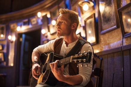 2. Ronan Keating (Once The Musical) photo by Hugo Glendinning