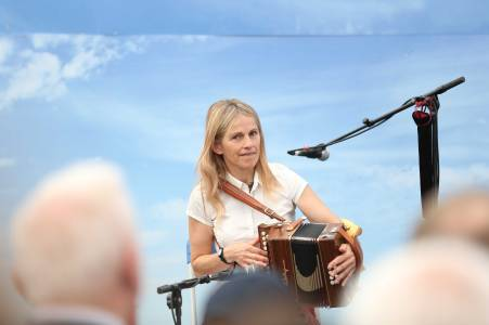 NO FEE145 ALDI Sharon Shannon performing 90357070