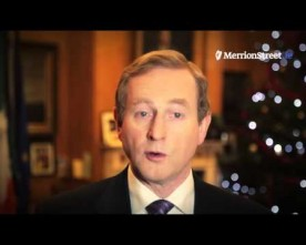 Enda Kenny's Christmas message addresses mass emigration