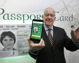 Ireland unveils new passport card