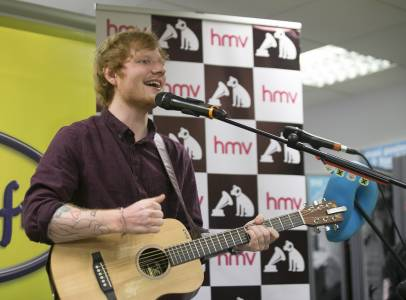 49 NO FEE ED SHEERAN AT HMV 90350712