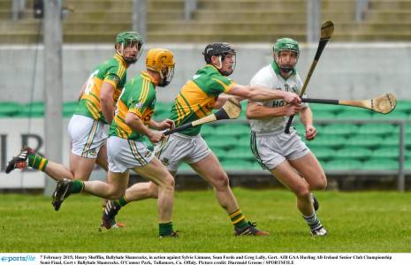 Henry Shefflin was man of the match against Gort but far from Ballyhale's only star performer. Alan gives special mention to Colin Fennelly
