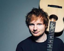 Ed Sheeran donates guitar to London Irish Centre