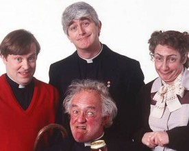 Charity Father Ted do to hit Clapham