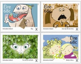 New Irish animation stamps released