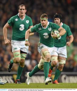 Jamie Heaslip returns for Ireland