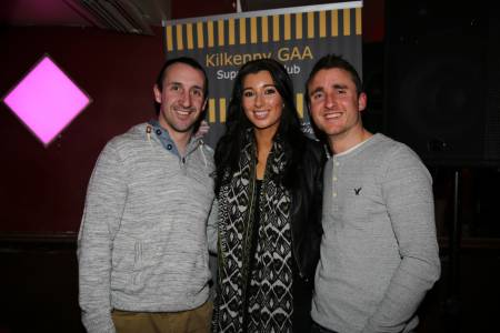 Ciara Allen with Eoin Larkin and David Herity