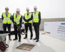 'Topping Out' of new police training facility at Hendon
