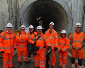 Crossrail tunnelling nears completion