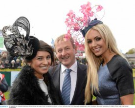 Punchestown's Best Dressed Lady from Newry