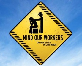 Half of Irish male suicide victims work in construction