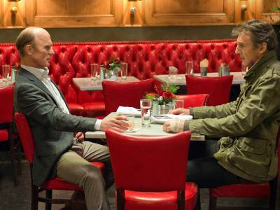 Ed Harris and Liam Neeson in a scene from Run All Night