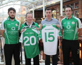 New London GAA jersey, sponsored by Clayton Hotels and The Irish World launched (Slideshow)