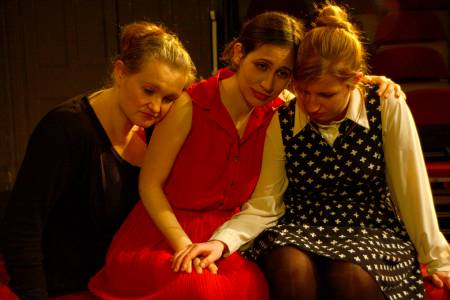 Reetta Hyyrylainen, Amber Mun and Roisin Keogh in Three Sisters. Picture: Mandy Gasson