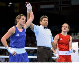 Katie Taylor progresses to first European Games semi-final