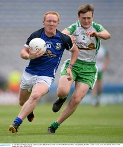 Philip in action the last time London took on Cavan in a championship match, the 2013 campaign