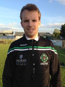London Ladies manager Colm Smith