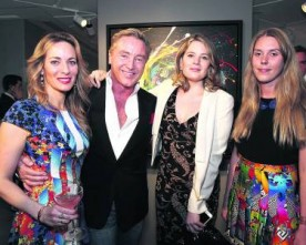 Flatley's paintings feature in Mayfair exhibition