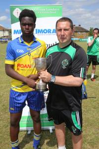 Dulwich Harps were crowned Champions of London on the 4 July at Irish TV Grounds
